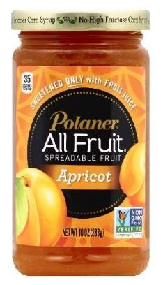 Polaner All Fruit with Fiber Apricot Spreadable Fruit 10 oz