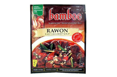 Bamboe Bumbu Rawon (East Java Beef Soup) - 1.9oz (Pack of 1)