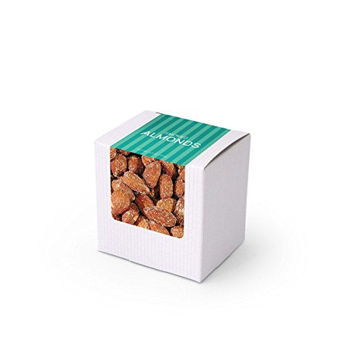 "Almonds, Smoked, 3"" White Box 48ct/4oz"