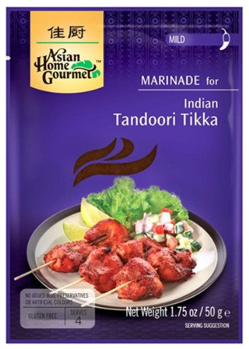 Asian Home Gourmet Indian Tandoori Tikka, 1.75-Ounce Boxes (Pack of 12)
