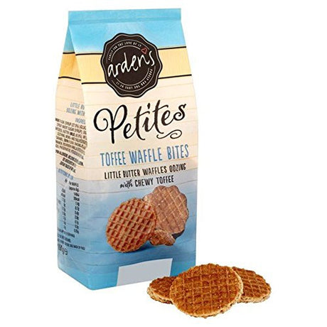 Arden's Petites Toffee Waffle Bites - 150g