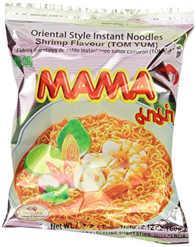 30 Packages Mama Tom Yum Flavour Instant Noodles