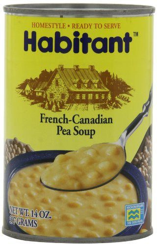 Habitant Soup, French-Canadian Pea, 14 Ounce (Pack of 12)