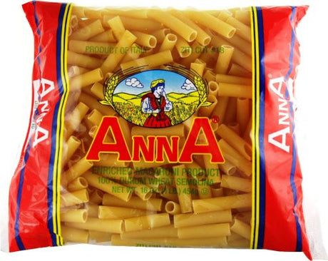 Anna Cut Ziti #18, 1 Pound Bags (Pack of 20)