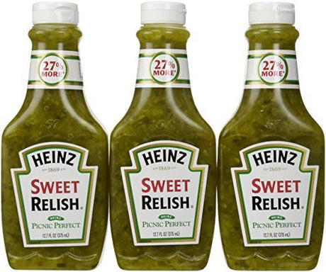 Heinz Sweet Relish 12.7 Ounce Bottle (Pack of 24)