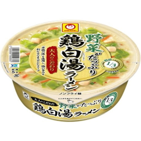 113gX12 pieces Maru-chan adult commitment vegetables chicken plain hot water Lamian