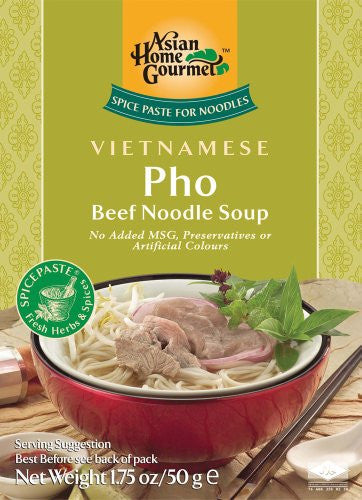 Asian Home Gourmet Vietnamese Pho, 1.75-Ounce Boxes (Pack of 12)