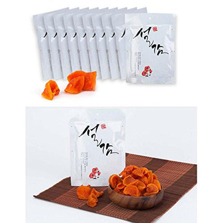 Korean Packed Dried Persimmon 75g X 10 pcs