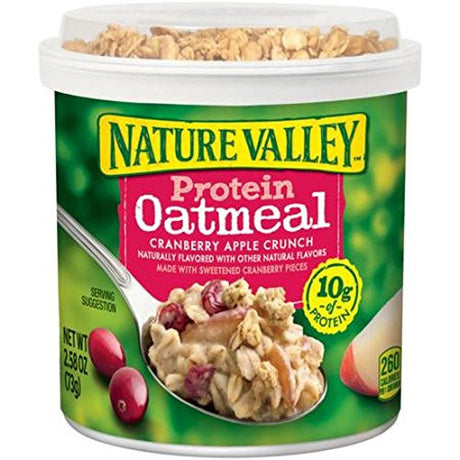 Nature Valley Protein Oatmeal Cup - Cranberry Apple Crunch - 2.58 oz