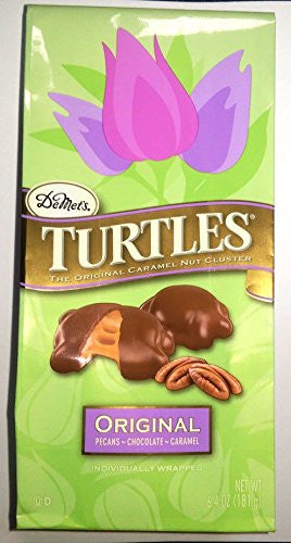 Turtles Original Caramel Pecan Clusters Spring Easter 6.4oz