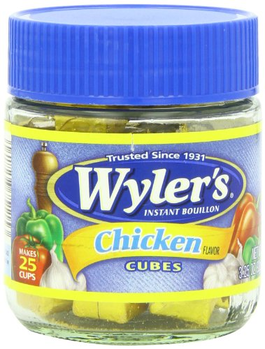 Wyler's Bouillon Cubes 3.25 Oz: Chicken, Chicken W/herbs and Spices, Beef (Pack of 6)