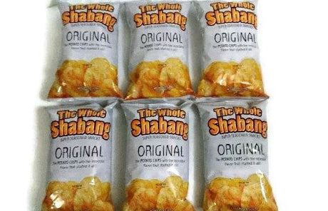 The Whole Shabang Potato Chips - 6 oz. Bags (Pack of 6)