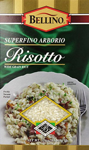 Bellino Superfino Arborio Risotto Rice, 32 Ounce (Pack of 10)