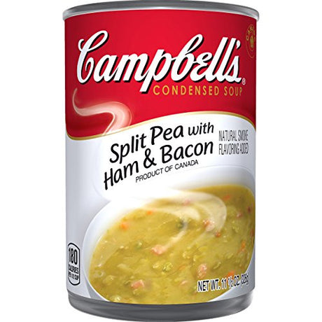 Campbell's Condensed Soup, Split Pea with Ham & Bacon, 11.5 Ounce