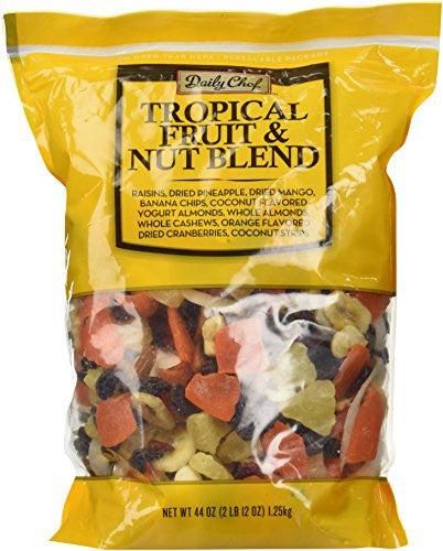 Daily Chef Tropical Fruit and Nut Blend 44oz.