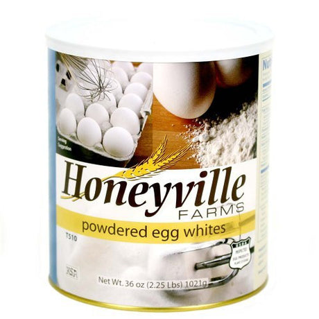 Powdered Egg Whites - 2.25 Pound Can by Honeyville Farms