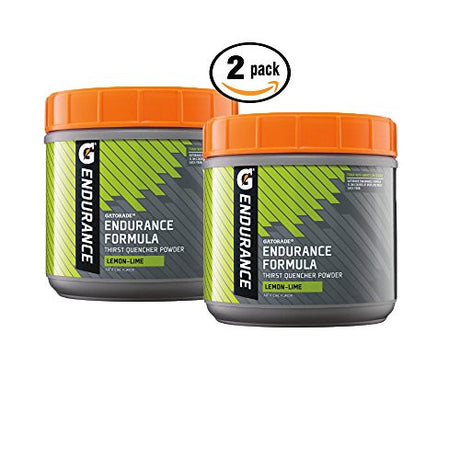 Pack of 2 - Gatorade Endurance Formula Powder, Lemon Lime, 32 Oz.