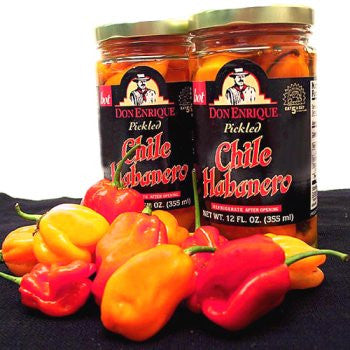 Melissa's Pickled Habanero Peppers, 3 Jars (12 fl oz)