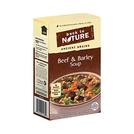 Back to Nature Soup - Beef and Barley - 17.4 oz