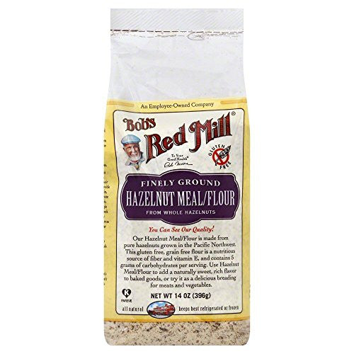 Bobs Red Mill Flour/Meal, Hazelnut 14.0 OZ(Pack of 6)