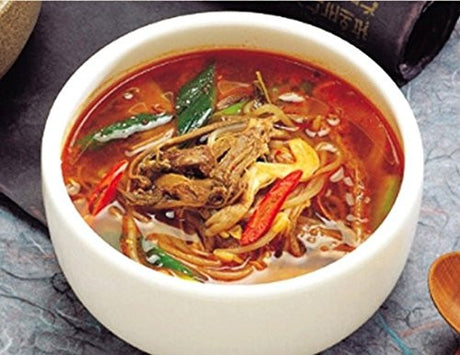 [KOREAN FOOD] Hot Spicy Meat Stew 600g X 2 Packs / Yukgaejang / Kimchi / Banchan / Korean Food / NO MSG / Well-Made Korean Packed Food / SAFE Package