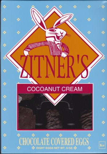 Zitners Coconut Cream Chocolate Covered Eggs