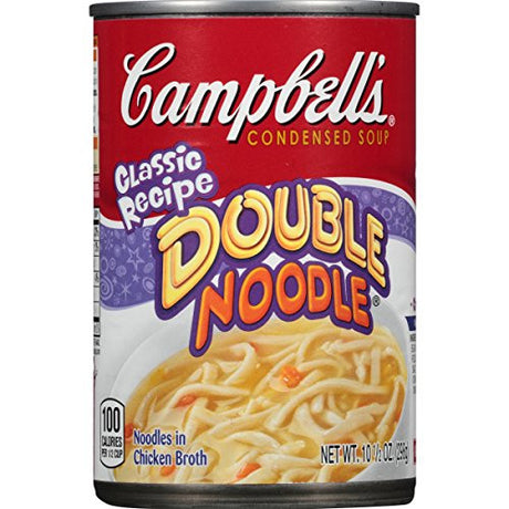 Campbell's Condensed Soup, Double Noodle, 10.5 Ounce