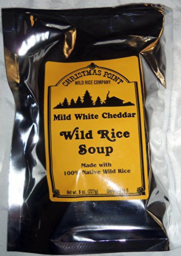 Minnesota Wild Rice and Mild White Cheddar Soup from Christmas Point