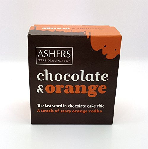 Ashers Zesty Orange Vodka Chocolate Cake