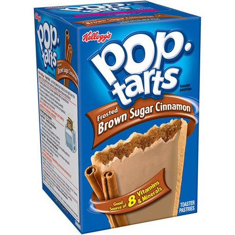 KELLOGGS POP TARTS BROWN SUGAR CINNAMON 8 CT