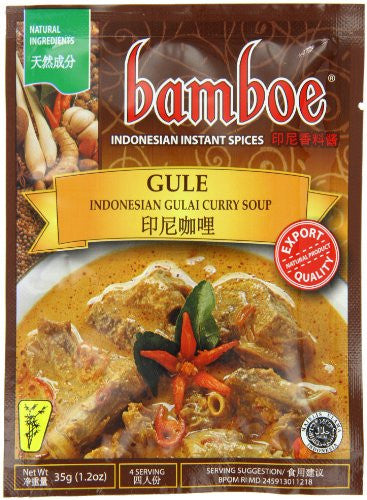 Bamboe Gulai Mutton Soup, 1.2-Ounce (Pack of 12)