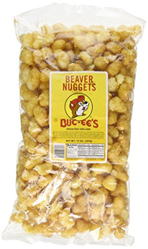 BUC-EES Beaver Nuggets Sweet Corn Puff Snacks Texas Bucees