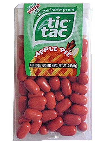 Tic Tacs Limted Editon Appie Pie Stocking Stuffer Size 1.7 oz