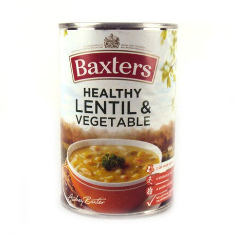 Baxters Healthy Lentil and Vegetable 415g