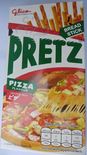 """Pretz Bread Stick Pizza Flavour"" Pack of 6"