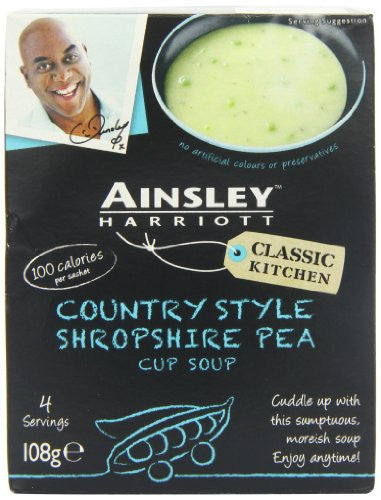 Ainsley Harriot Shropshire Pea Soup (Pack of 9)