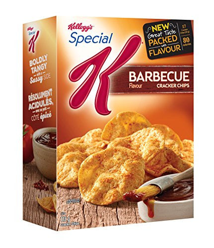 Kellogg's Special K Cracker Chips BBQ 113 Gram/3.98oz {Imported from Canada}