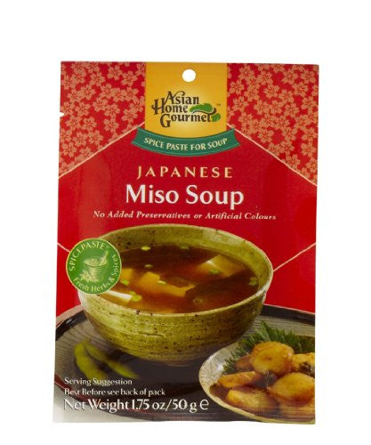 ASIAN HOME GOURMET Paste for Japanese Miso Soup 1.75 Ounce