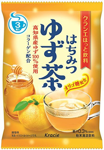 Kracie Foods honey citron tea three bags input X5 pieces