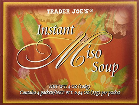 Trader Joe's Instant Miso Soup,4 packets,4 oz