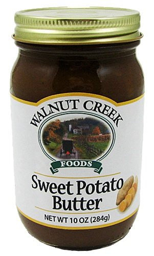 Sweet Potato Butter 10oz Jar Hand Made in Ohio