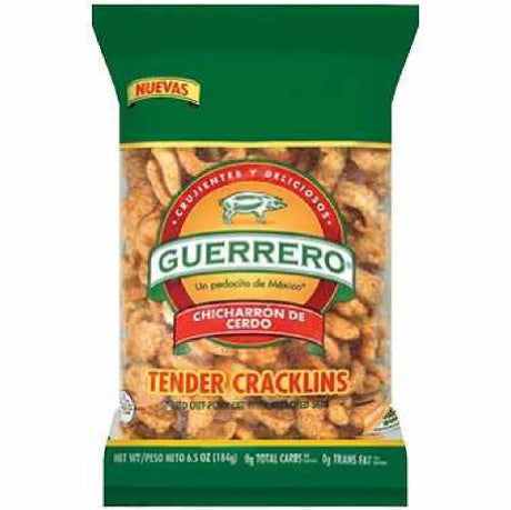 Guerrero Tender Cracklins Cello Bag (6.5 ounce)