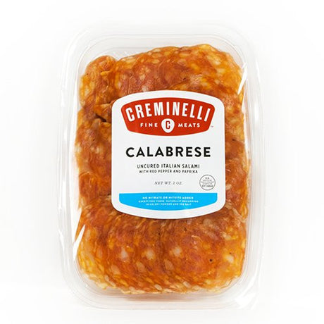 Creminelli Salami Calabrese Sliced Tray Pack, 2 oz