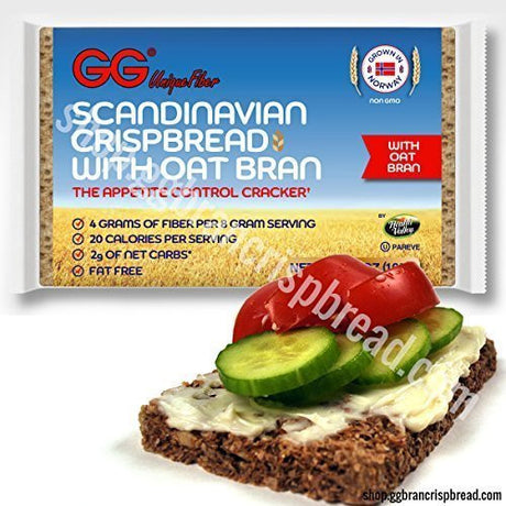 GG Crispbread with Oat Bran - 10 pack