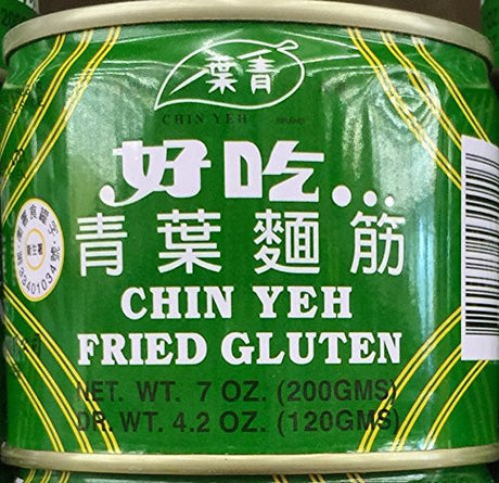 7oz Chin Yeh Fried Gluten (Pack of 2)