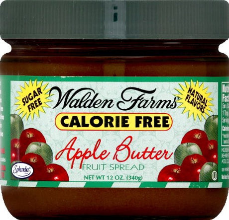 Walden Farms Gluten Free Sugar Free Calorie Free Apple Butter Spread 12oz. (Pack of 3)