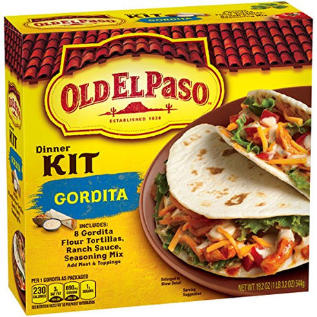 Old El Paso Gordita Dinner Kit 19.2 oz Box (pack of 6)