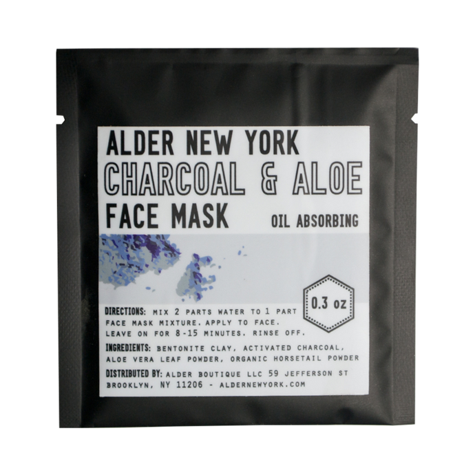 Charcoal & Aloe Face Mask