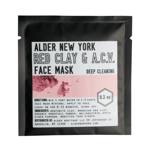 Red Clay & A.C.V. Face Mask