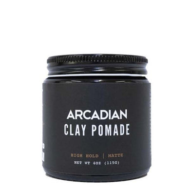 Arcadian Clay Pomade Bay Rum and HoWood Scent